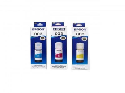 Refill Tinta Epson 003 Color Original - Epson L1110/ L3100/ l3101/ l3110/ l3150/ l5190